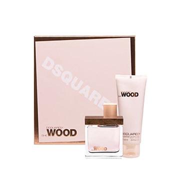 Dsquared2 She Wood SET W EDP 100ml + Balsam 200ml